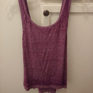 We the free by free people purple tank top
